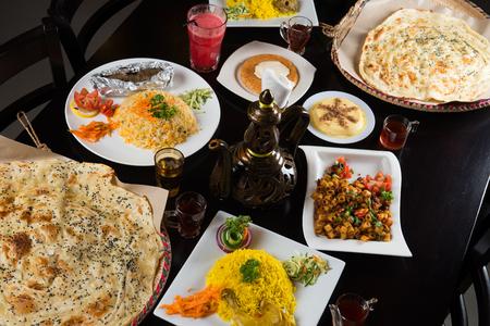 various arab foods