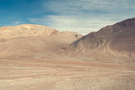 Empty desert in himalayas , India