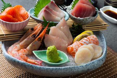 Big sashimi set - Japanese food