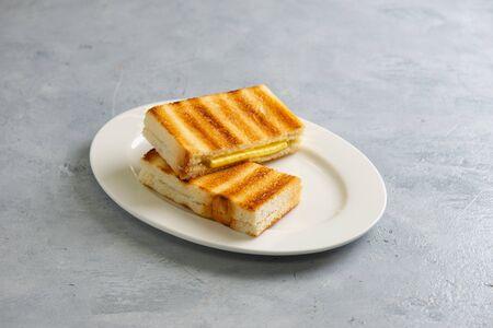 tostada kaya con mantequilla, estilo malasia Foto de archivo