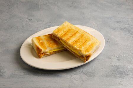 Kaya-Toast mit Butter nach malaysischer Art Standard-Bild