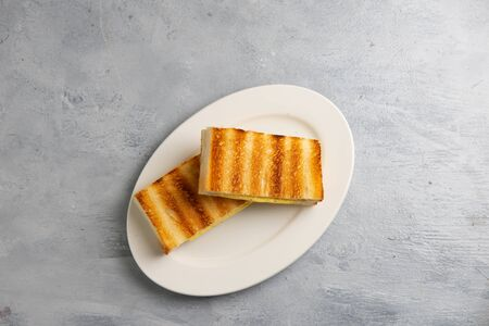 kaya toast with butter, malaysian style