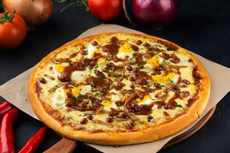 Nasi Lemak Pizza malaysia fusion dish