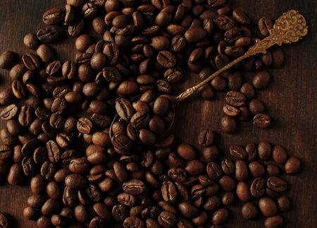 A bitterly drink from freshly ground coffee is the best drink Reklamní fotografie