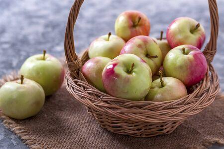 Tasty and healthy berry. Fruit season.
