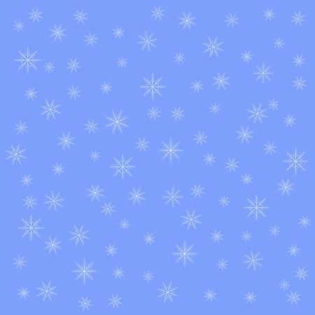snowflake on winter gray sky background. Christmas vector pattern design for backdrop.