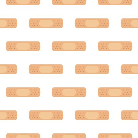 Medicine plaster icon pattern. medicine icon from the big medical, healthcare cartoon. Иллюстрация
