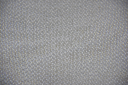 closeup look of linen fabric texture beige color with every thread visible Imagens