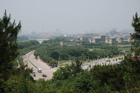 the view of the city Фото со стока