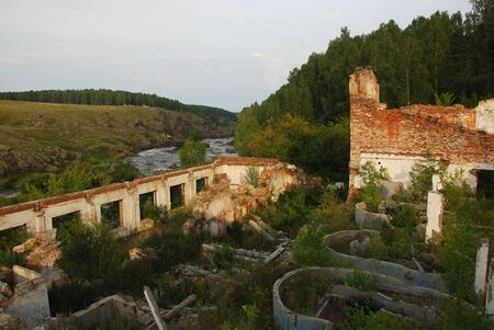 ruins of the 18th century, Ural region, Russia