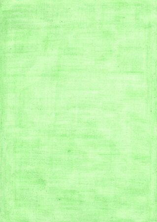mint green rectangle sheet of paper colored with pencil. colors in art and design concept . Imagens