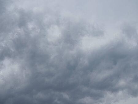 gray sky before the thunderstorm Stock fotó
