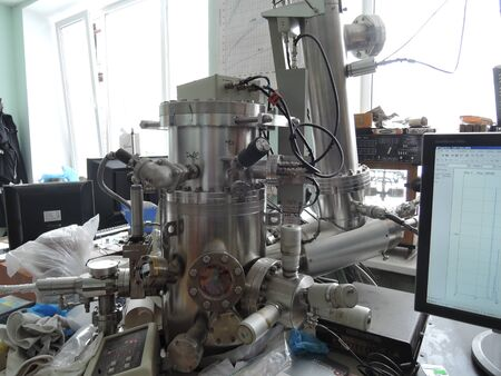 Mass Spectrometer in a laboratory close-up.