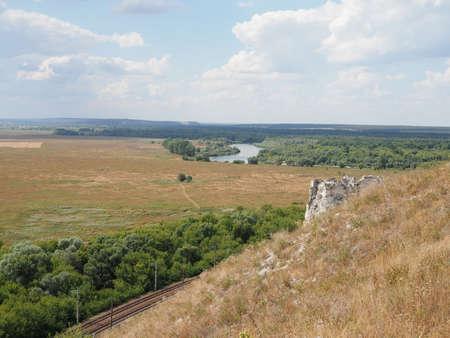 Cultural and historical complex Divnogorie in Voronezh region, Russia