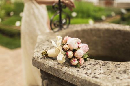 marriageable: bridal bouquet