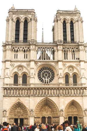notre dame: Notre Dame Cathedral - Paris Editorial