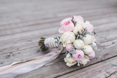 mooie bruiloft boeket