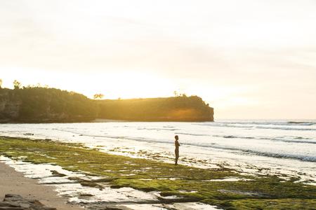 sunset sky in Bali