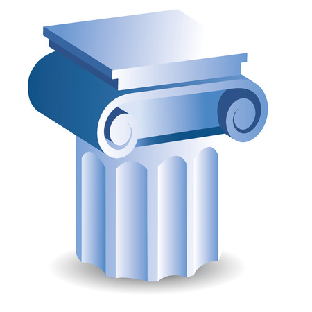 doric: icon of a old style suport like in Greece