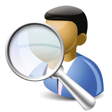 user icon: icon of the icon where someone searching for the user