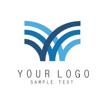 medical logo: icon of the logotype can be used in any kind of activity Illustration