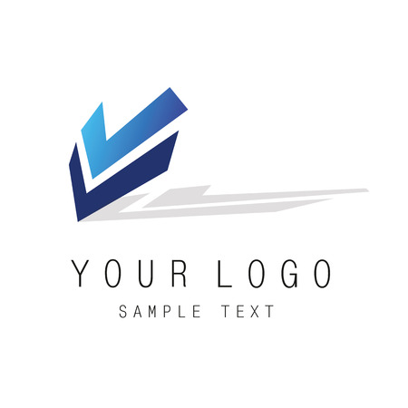kind: icon of the logotype can be used in any kind of activity Illustration
