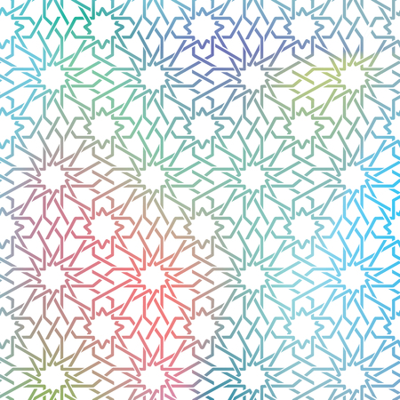 Arabic ornament seamless pattern, Vector design.