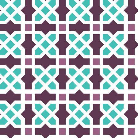mudejar: Arabic classic ornament outline pattern