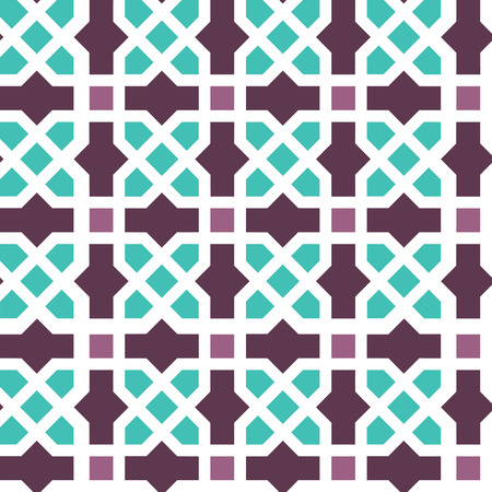Arabic classic ornament outline pattern