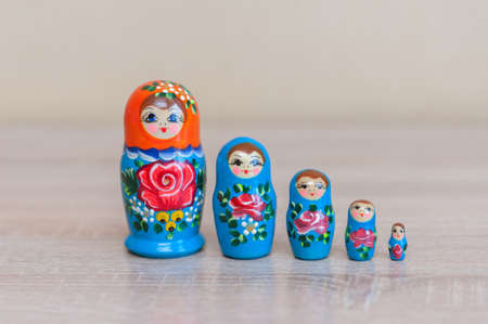 Russian doll. set of 5 pieces