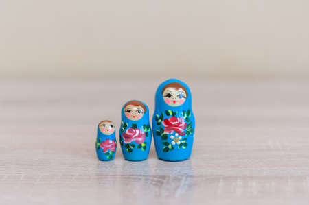 Russian doll. set of 3 pieces