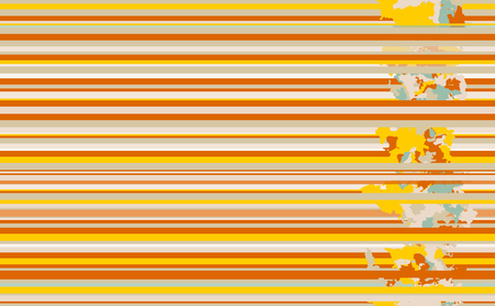 Seamless horizontal lines pattern. Vector orange nuances background Иллюстрация
