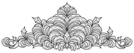 Black and white outline pattern for coloring and cutting.