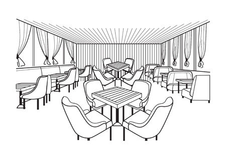 Meeting room with around  table and chair.