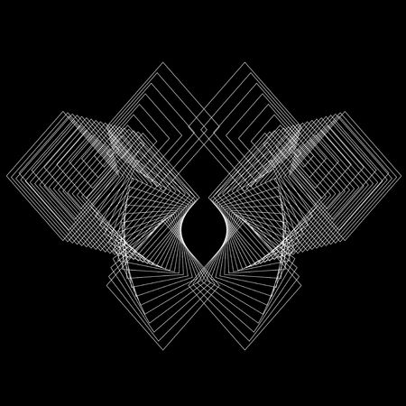 Symmetry background of geometry figure. Elements for design.