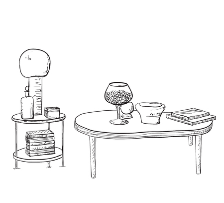 home accessories: Furniture and Home Accessories - Set of design elements