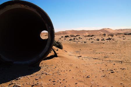 African Desert pollution, Namibia