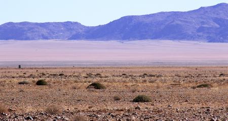 Beautiful mountains of Namibia Stock Photo