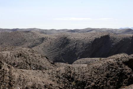 Iron mountains of namibia
