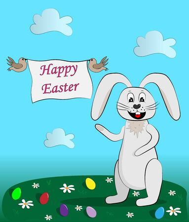 greetings from easter bunny