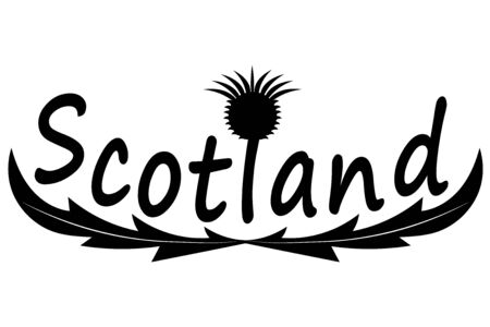 thistle symbol of the country of scotland