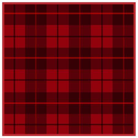 Scottish tartan red with black stripes