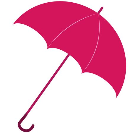 the open umbrella icon is pink
