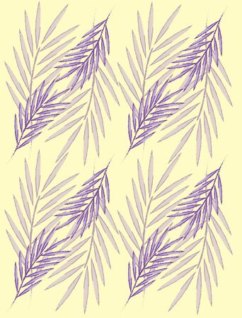 purple palm leaves for wallpaper