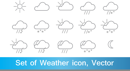 line: Weather line icon