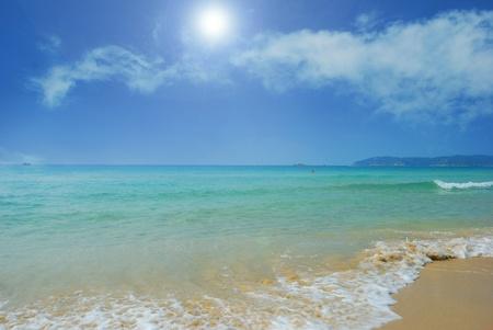 sand mold: Taken in Sanya, China beach scenery