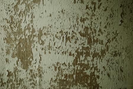 voids: Severe peeling paint wooden doors, Stock Photo