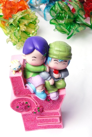 Couples in couple figurine, Valentines Day gifts photo