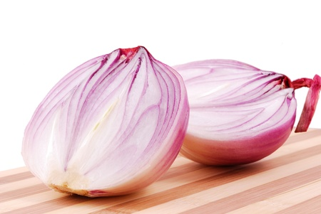 Onion isolated on a white background Stock Photo - 11352759