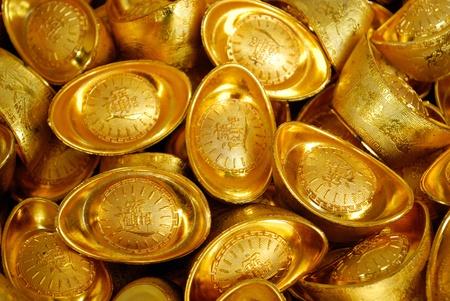 ingots: Rise of the Asian Economy Symbolized Through Gold Ingots